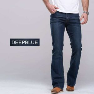Men's Bootcut Jeans Deep Blue