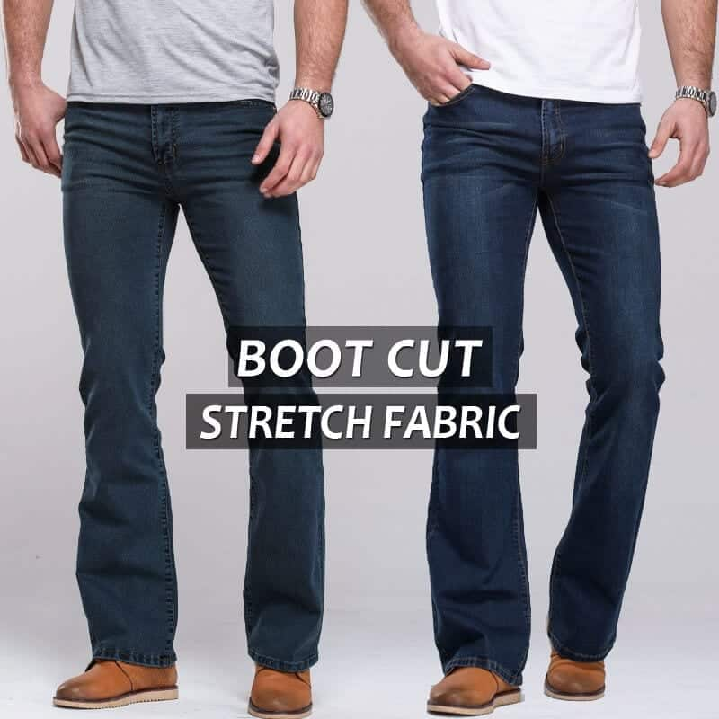 Mens Bootcut Jeans