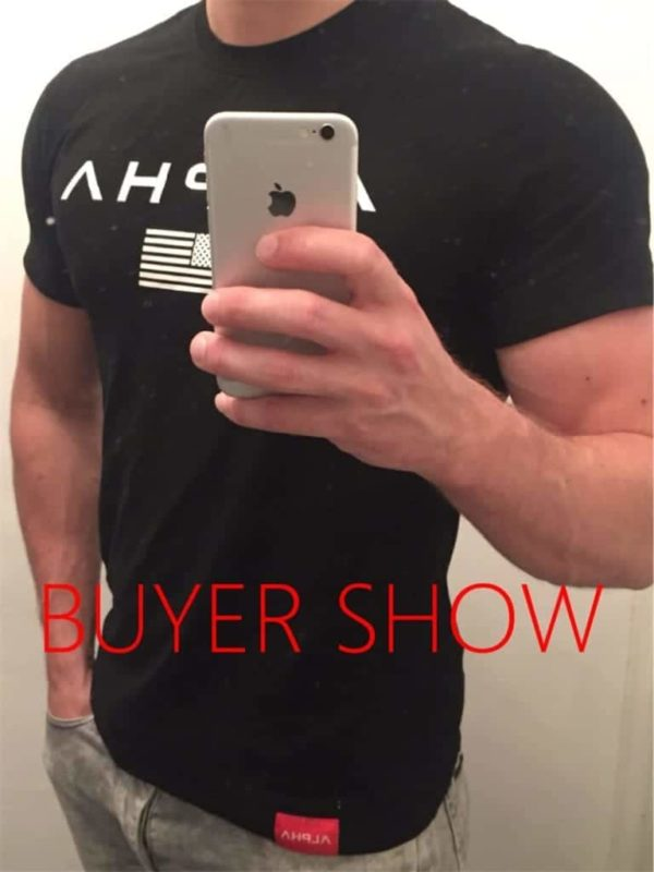 New Mens Brand Clothing Gyms Fitness Tight T-Shirt 4