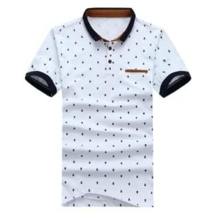 Polo Men Shirts Cotton Short Sleeve