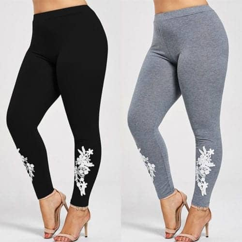 Applique Skinny Jersey Leggings 2