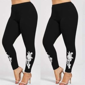Applique Skinny Jersey Leggings
