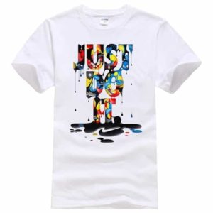 Just Do It Casual Hip Hop Short Sleeve T-Shirt