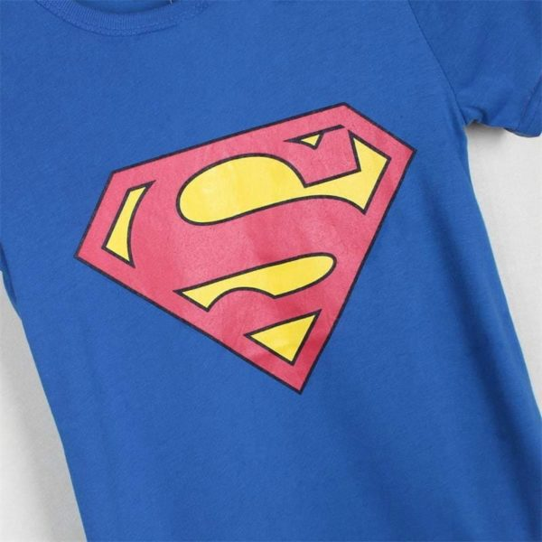 Spider Man Super Man Hero Cotton Kids T-Shirt 6