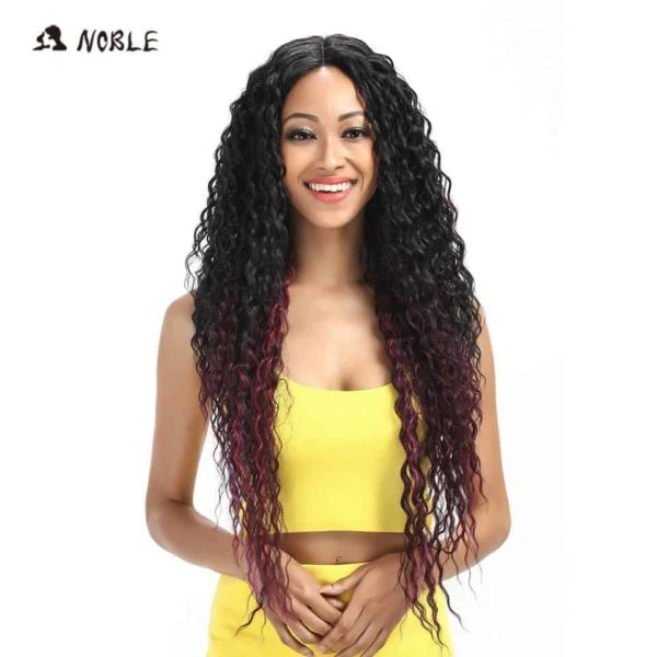 Noble Hair Lace Front Ombre Blonde Wig 2