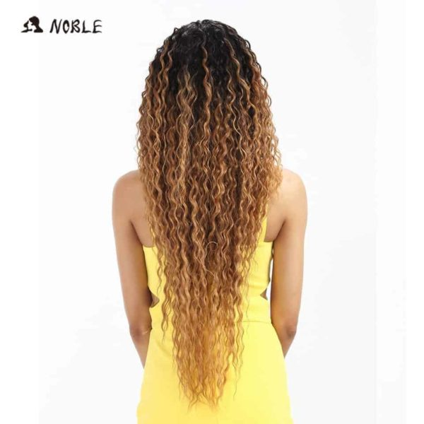 Noble Hair Lace Front Ombre Blonde Wig 3