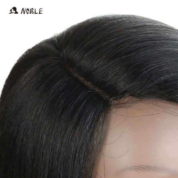 Noble Hair Lace Front Ombre Blonde Wig 4