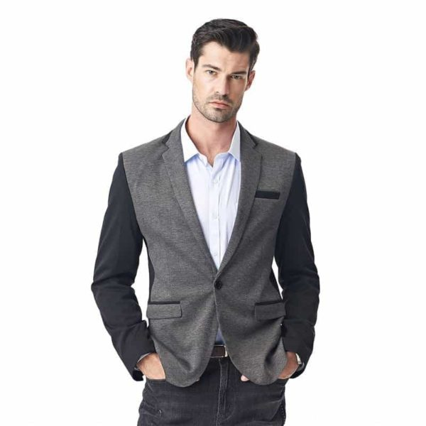 New Casual Men Blazer Cotton Slim Suits Jacket Blazers 5