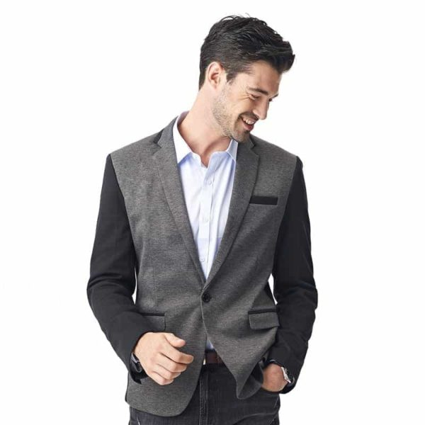 New Casual Men Blazer Cotton Slim Suits Jacket Blazers 6