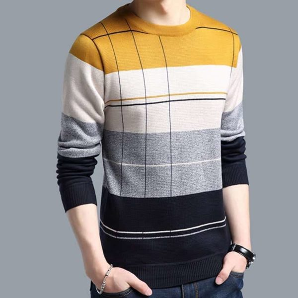 Mens striped sweaters 2
