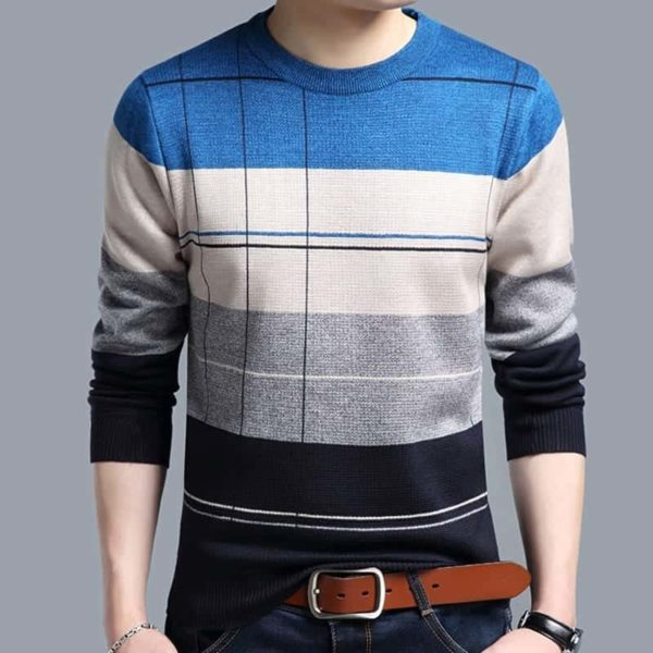 Mens striped sweaters 4