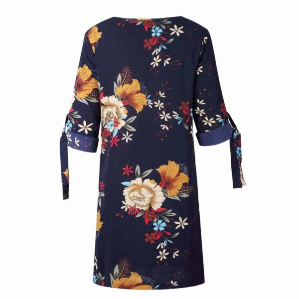Short Sleeve Elegant Women Dress 5