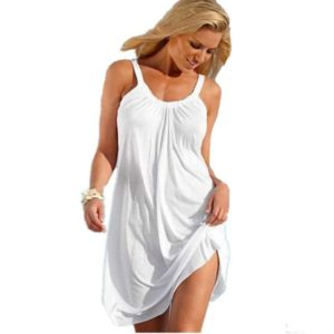 Beach Dress Loose Sleeveless Summer Women Dress