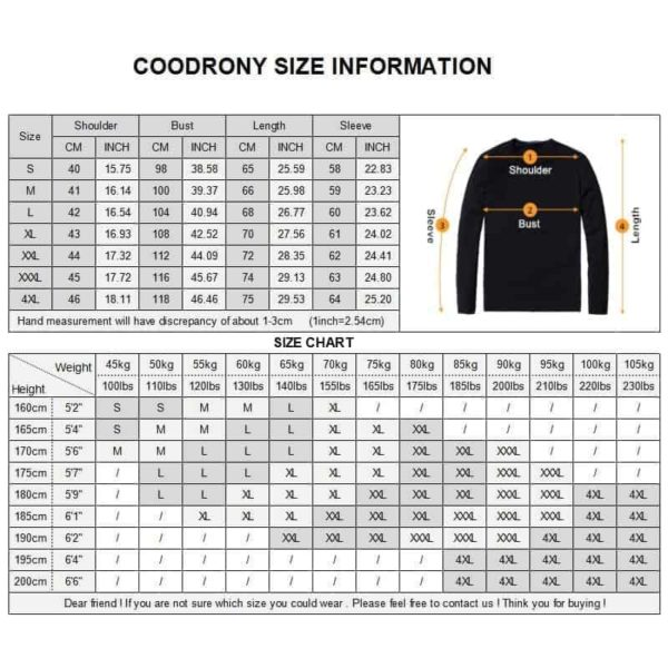 COODRONY Cashmere Sweater 1