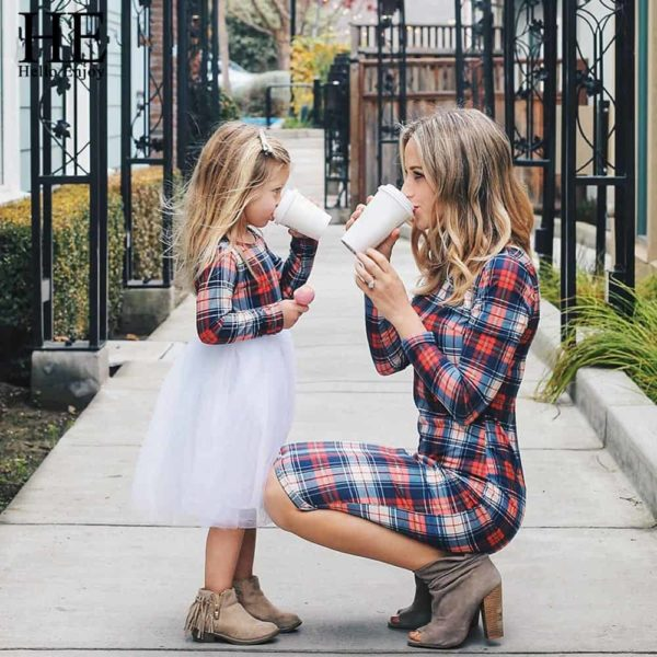 HE Hello Enjoy Mother Daughter Matching Clothes Sets 2