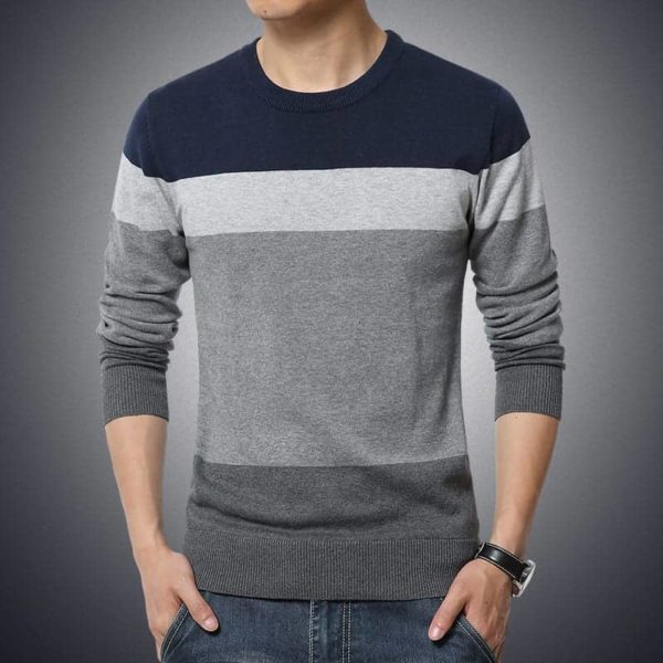 Sweater Men Casual Pullover M-3XL 3