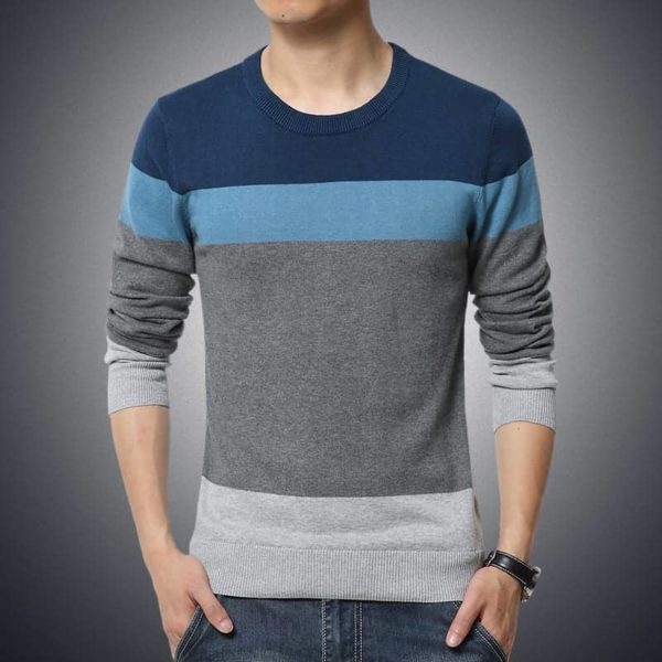 Sweater Men Casual Pullover M-3XL 2