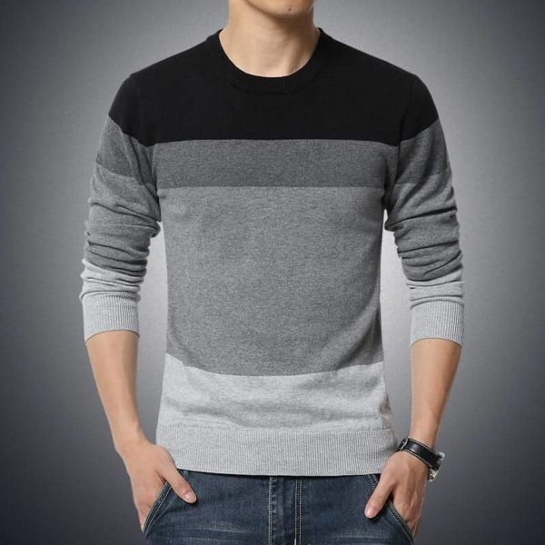 Sweater Men Casual Pullover M-3XL 1