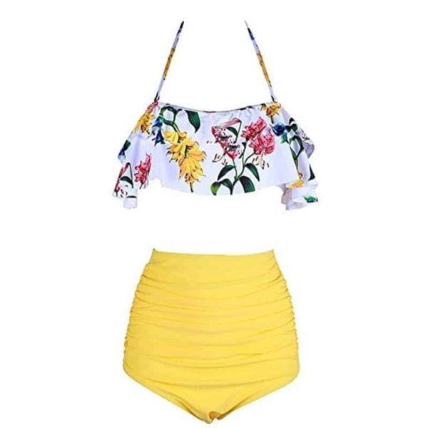 Two Piece Swimsuits High Waist 1