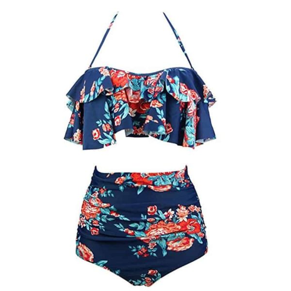 Two Piece Swimsuits High Waist 2