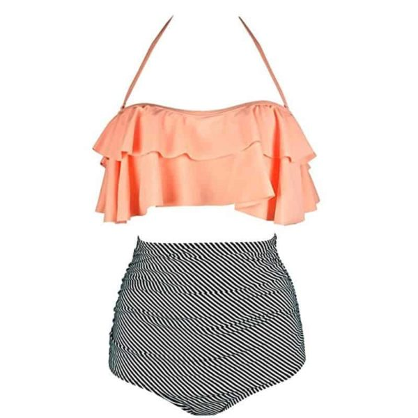 Two Piece Swimsuits High Waist 4