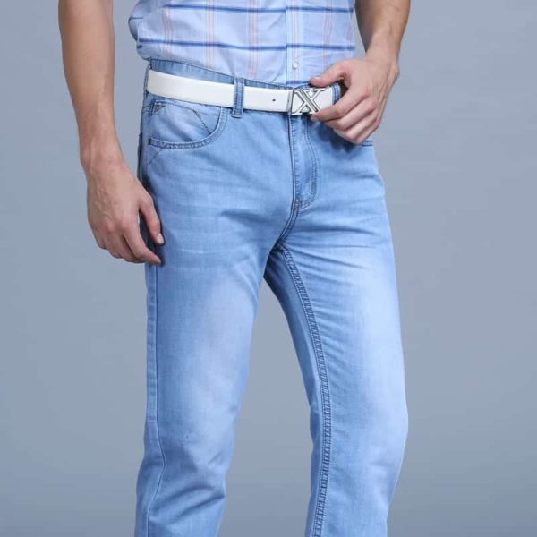 Men's Blue Fashion Jeans Pants 6