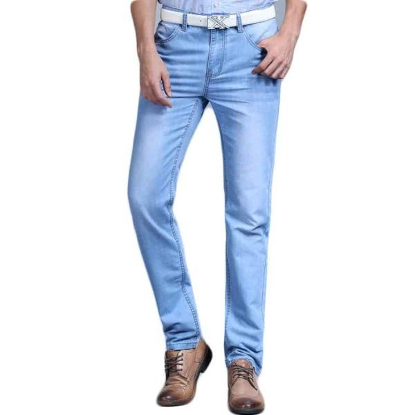 Men's Blue Fashion Jeans Pants 1