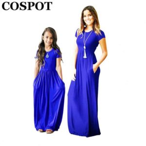 COSPOT Mother and Daughter Summer Dress