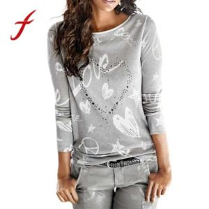 Fashion Autumn Women's T-Shirt