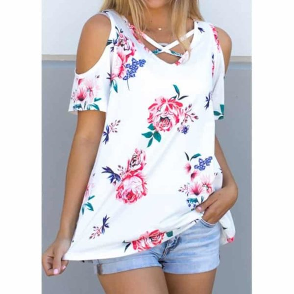 Cold Shoulder Summer Tops 2