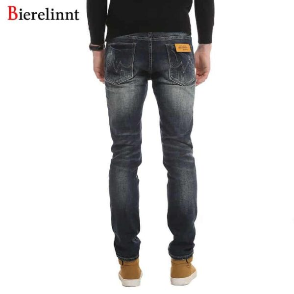 Denim Long Pants Men Jeans Casual Cotton Jeans Men 2