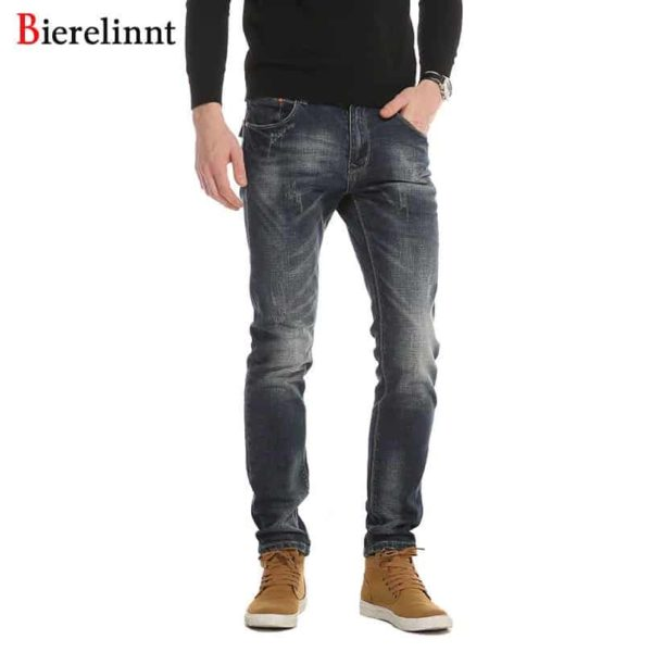 Denim Long Pants Men Jeans Casual Cotton Jeans Men 1
