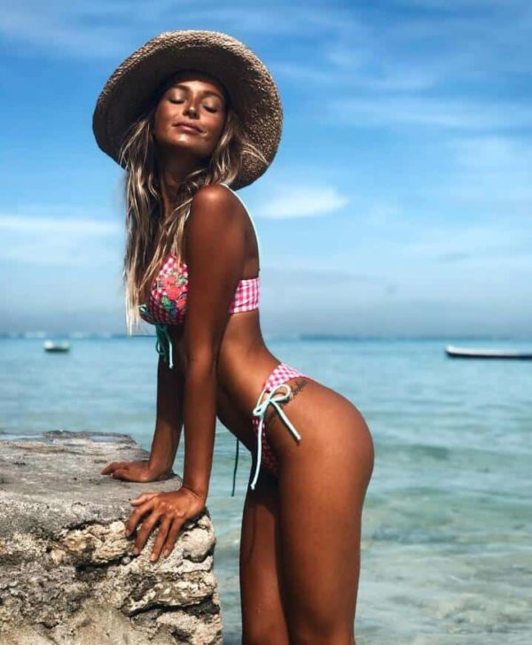 Hot Brazilian Sexy Print Bikinis Women Swimwear Push up Swimsuit 3