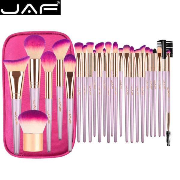 Gold Makeup Brush Set JAF 26 Pcs 1