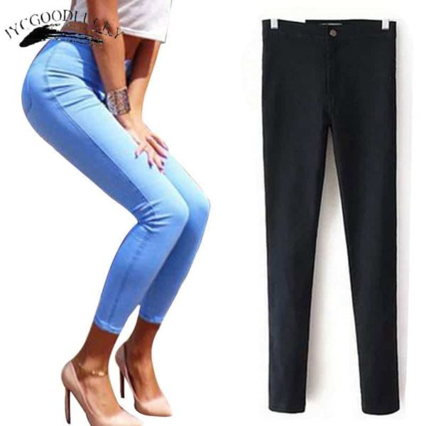 Jeans For Women Stretch Black Pants Skinny Women Jeans 1