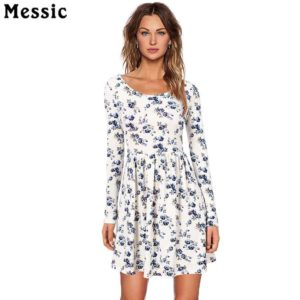 Messic Women Autumn Spring Vintage