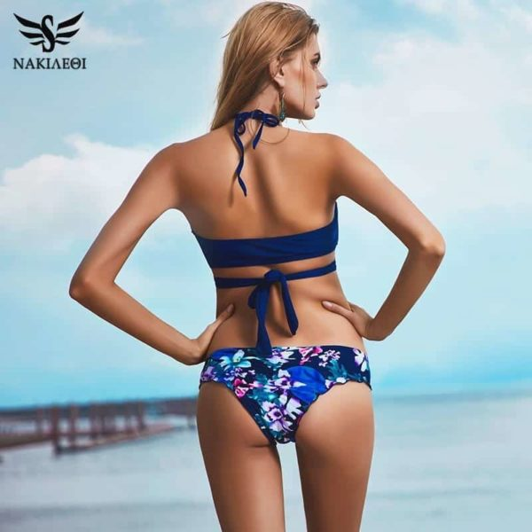 Sexy Cross Brazilian Bikinis Women Swimwear Swimsuit 3