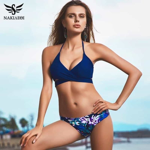 Sexy Cross Brazilian Bikinis Women Swimwear Swimsuit 1