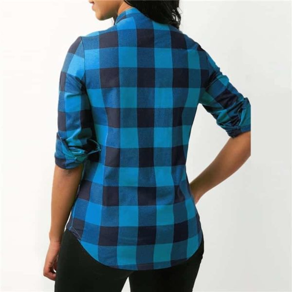 Long Sleeve Office Lady Blouses 1