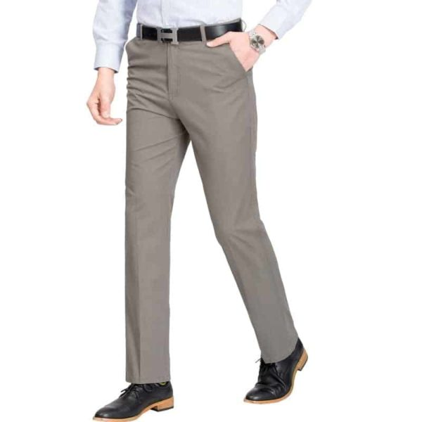 Mens High Rise Trousers 2