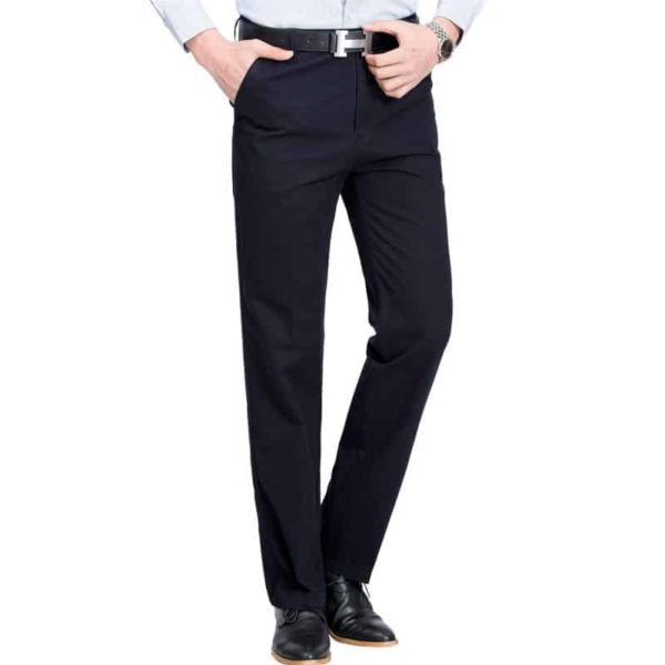 Mens High Rise Trousers 4