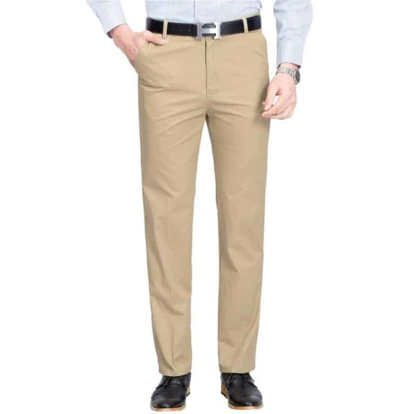 Mens High Rise Trousers 5