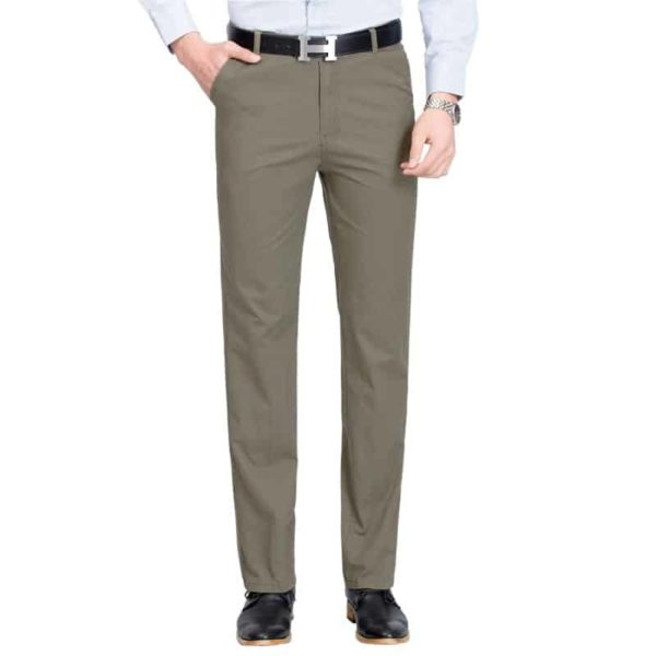Mens High Rise Trousers 1