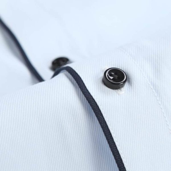 Mens Twill Shirts Button Down 5