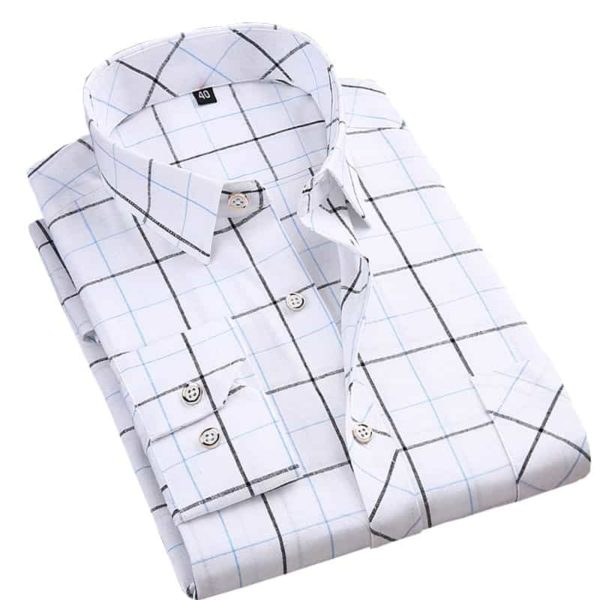 Square Neckline Shirt For Men