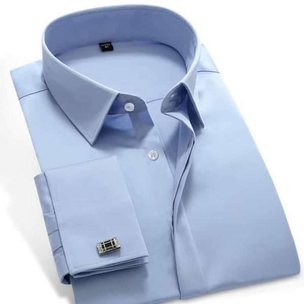 French Cuff Dress Shirts 1
