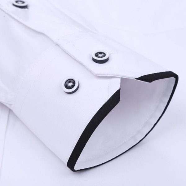 Stand Collar Long Sleeve Slim Fit 5