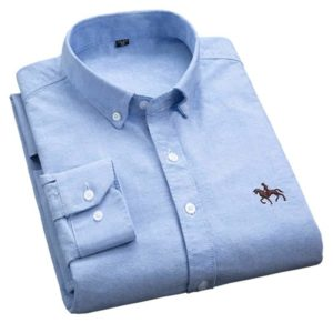 Plus Size Oxford Fabric Shirts