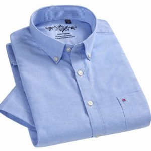 Mens Short Sleeve Button Down Casual Shirts