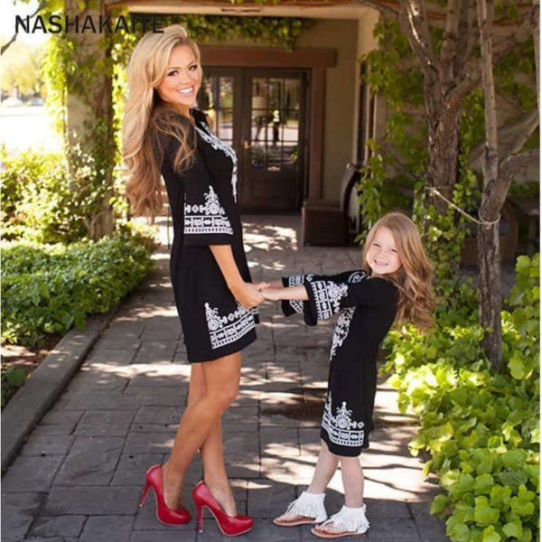 Mommy and Me Maxi Dresses 1